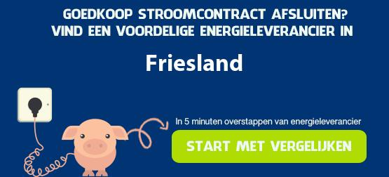 goedkoopste stroom in friesland