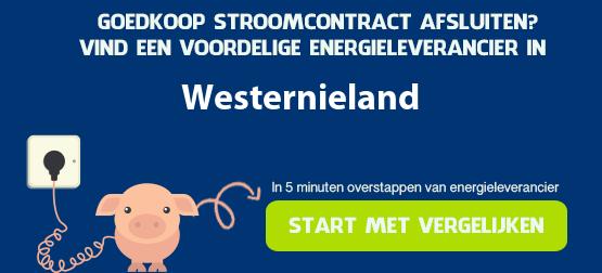 goedkoopste stroom in westernieland